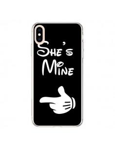 Coque iPhone XS Max She's Mine Elle est à Moi Amour Amoureux - Laetitia