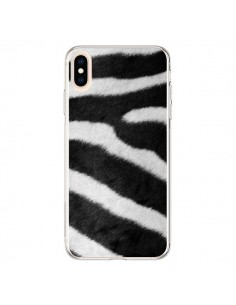 Coque iPhone XS Max Zebre Zebra - Laetitia