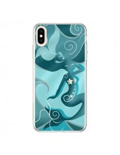 Coque iPhone XS Max La Petite Sirene Blue Mermaid - LouJah
