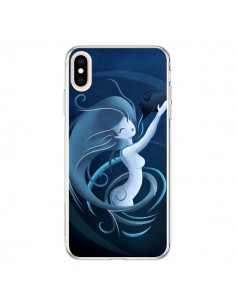 Coque iPhone XS Max Aquarius Girl La Petite Sirene - LouJah