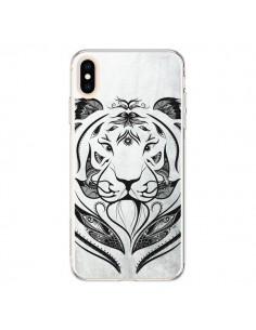 Coque iPhone XS Max Tattoo Tiger Tigre - LouJah