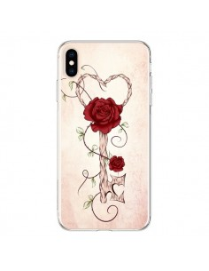 Coque iPhone XS Max Key of Love Clef Amour - LouJah