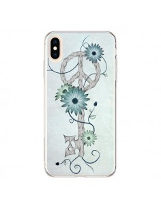 Coque iPhone XS Max Key to Peace Clef Paix - LouJah