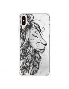 Coque iPhone XS Max Poetic Lion Noir Blanc - LouJah