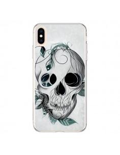 Coque iPhone XS Max Skull Boho Tête de Mort - LouJah