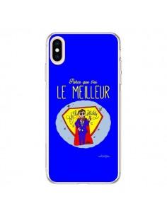 Coque iPhone XS Max Le meilleur Papa Fête des Pères - Leellouebrigitte