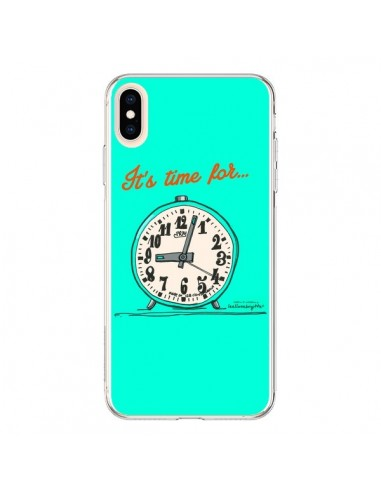 Coque iPhone XS Max It's time for - Leellouebrigitte