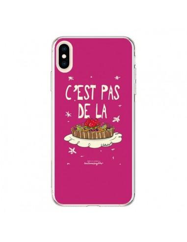 Coque iPhone XS Max C'est pas de la tarte - Leellouebrigitte