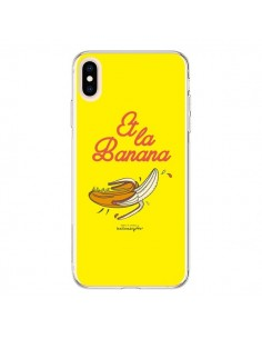 Coque iPhone XS Max Et la banana banane - Leellouebrigitte
