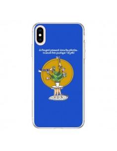 Coque iPhone XS Max L'argent ne pousse pas dans les plantes - Leellouebrigitte