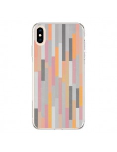 Coque iPhone XS Max Bandes Couleurs - Leandro Pita