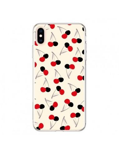 Coque iPhone XS Max Cerises Cherry - Leandro Pita