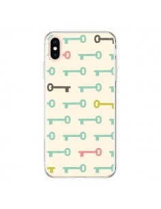Coque iPhone XS Max Clefs Keys - Leandro Pita