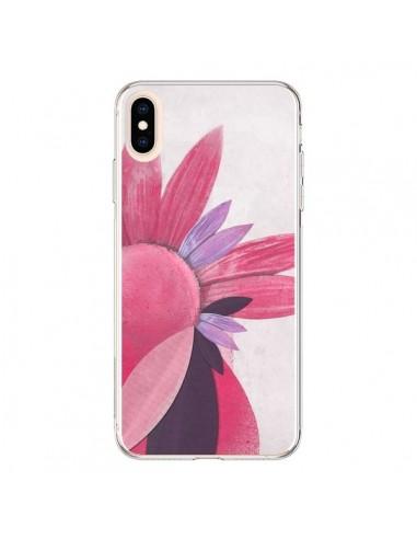 Coque iPhone XS Max Flowers Fleurs Roses - Lassana