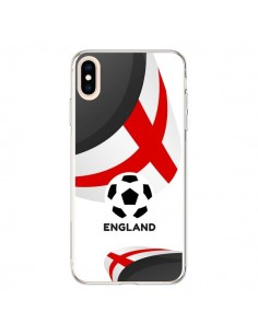 Coque iPhone XS Max Equipe Angleterre Football - Madotta