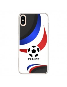 Coque iPhone XS Max Equipe France Football - Madotta