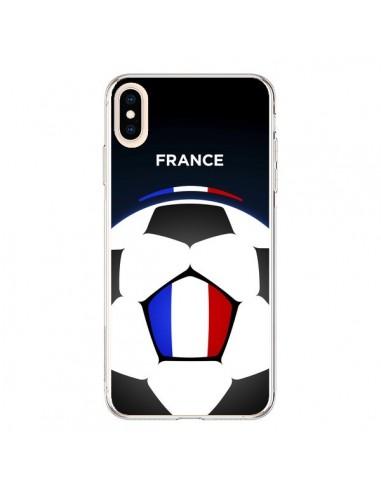 Coque iPhone XS Max France Ballon Football - Madotta