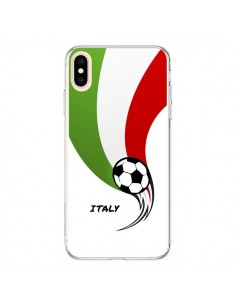 Coque iPhone XS Max Equipe Italie Italia Football - Madotta