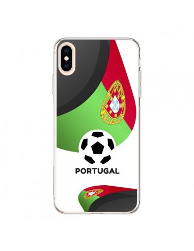 Coque iPhone XS Max Equipe Portugal Football - Madotta