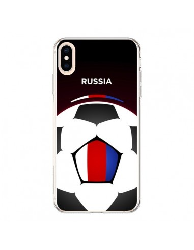 Coque iPhone XS Max Russie Ballon Football - Madotta