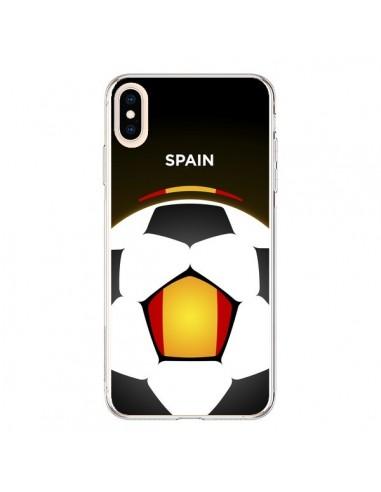 Coque iPhone XS Max Espagne Ballon Football - Madotta