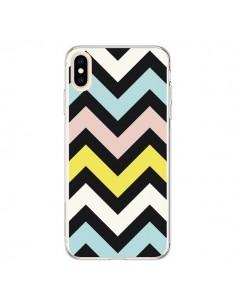 Coque iPhone XS Max Azteque Chevron Sunny - Mary Nesrala