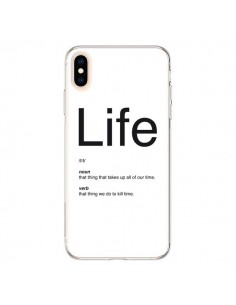Coque iPhone XS Max Life - Mary Nesrala