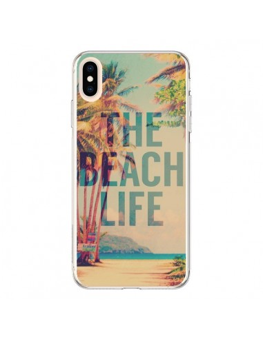 Coque iPhone XS Max The Beach Life Summer - Mary Nesrala