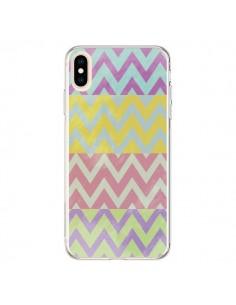 Coque iPhone XS Max Chevron Summer Triangle Azteque - Mary Nesrala