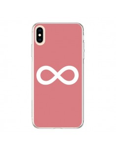 Coque iPhone XS Max Infinity Infini Forever Corail - Mary Nesrala