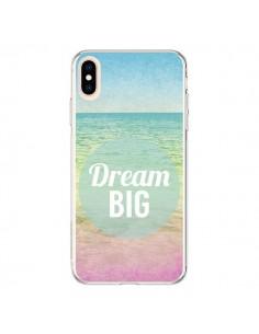 Coque iPhone XS Max Dream Big Summer Ete Plage - Mary Nesrala