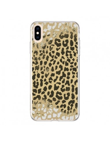 coque leopard iphone xs