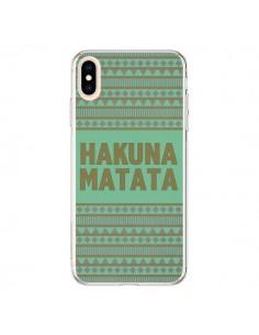 Coque iPhone XS Max Hakuna Matata Roi Lion - Mary Nesrala