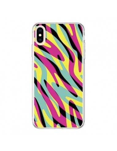Coque iPhone XS Max In the wild arc en ciel - Mary Nesrala