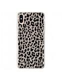 Coque iPhone XS Max Leopard Marron - Mary Nesrala