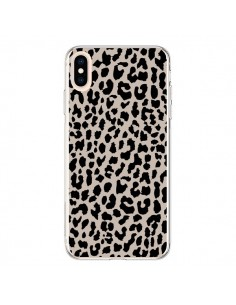 Coque iPhone XS Max Leopard Marron - Mary Nesrala