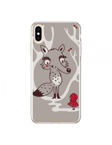 Coque iPhone XS Max Le Petit Chaperon Rouge Loup - Maria Jose Da Luz