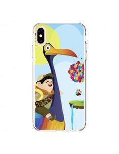 Coque iPhone XS Max La Haut Kevin et Russel - Maria Jose Da Luz