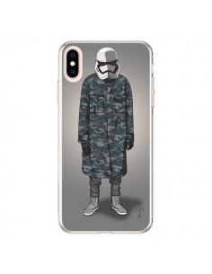 Coque iPhone XS Max White Trooper Soldat Yeezy - Mikadololo