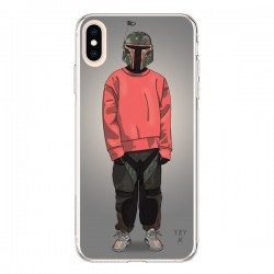 Coque iPhone XS Max Pink Yeezy - Mikadololo