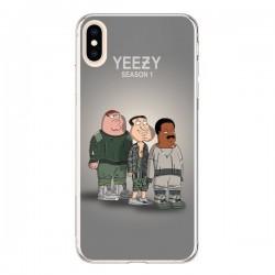 Coque iPhone XS Max Squad Family Guy Yeezy - Mikadololo