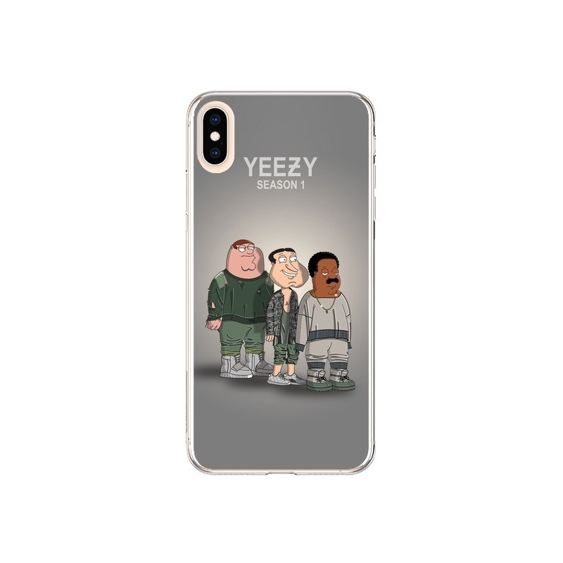 Coque iPhone XS Max Squad Family Guy Yeezy - Mikadololo