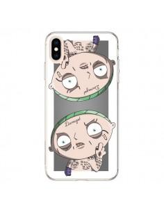 Coque iPhone XS Max Stewie Joker Suicide Squad Double - Mikadololo