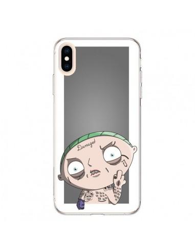 Coque iPhone XS Max Stewie Joker Suicide Squad - Mikadololo