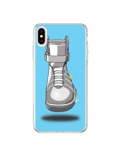 Coque iPhone XS Max Back to the future Chaussures - Mikadololo