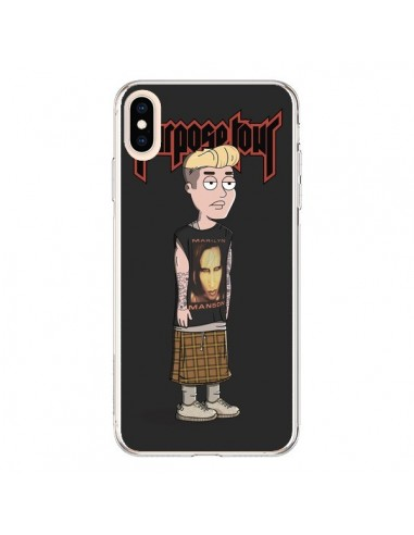 Coque iPhone XS Max Bieber Purpose Tour Manson - Mikadololo