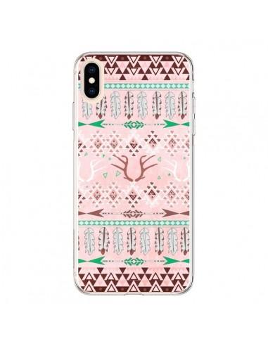 Coque iPhone XS Max Amadahy Cerf Azteque - Monica Martinez