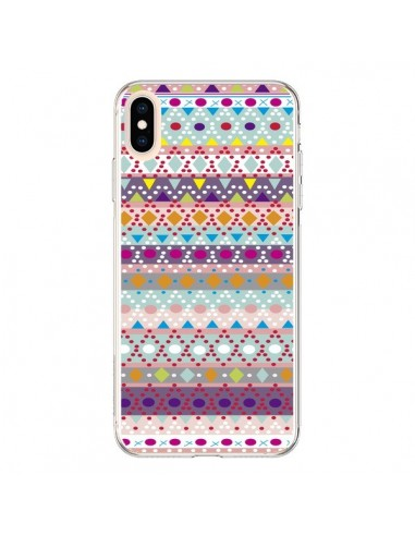 Coque iPhone XS Max Ayasha Azteque - Monica Martinez