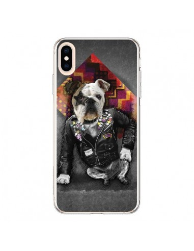 Coque iPhone XS Max Chien Bad Dog - Maximilian San