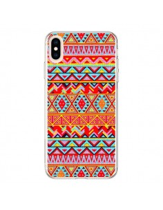 Coque iPhone XS Max India Style Pattern Bois Azteque - Maximilian San
